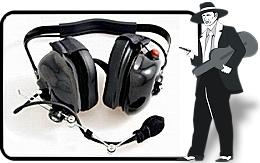 Black 'High Noise Environment' Headset