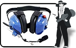 Blue 'High Noise Environment' Headset