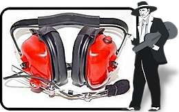 Red 'High Noise Environment' Headset